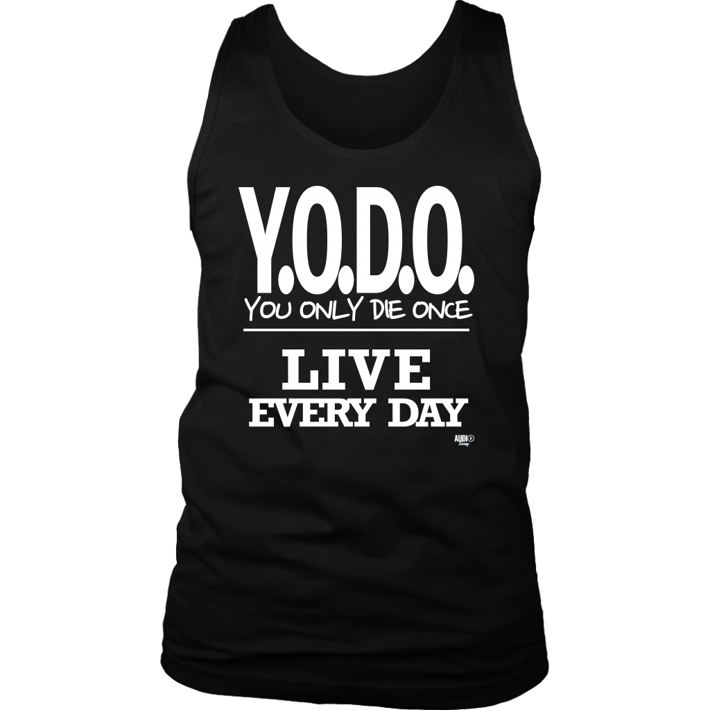 Y.O.D.O. Live Every Day Mens Tank Top - Audio Swag