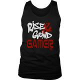 Rise & Grind Gamer Mens Tank Top - Audio Swag