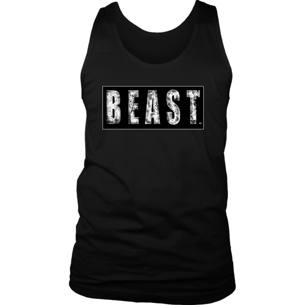 Beast Fitness Mens Tank Top - Audio Swag