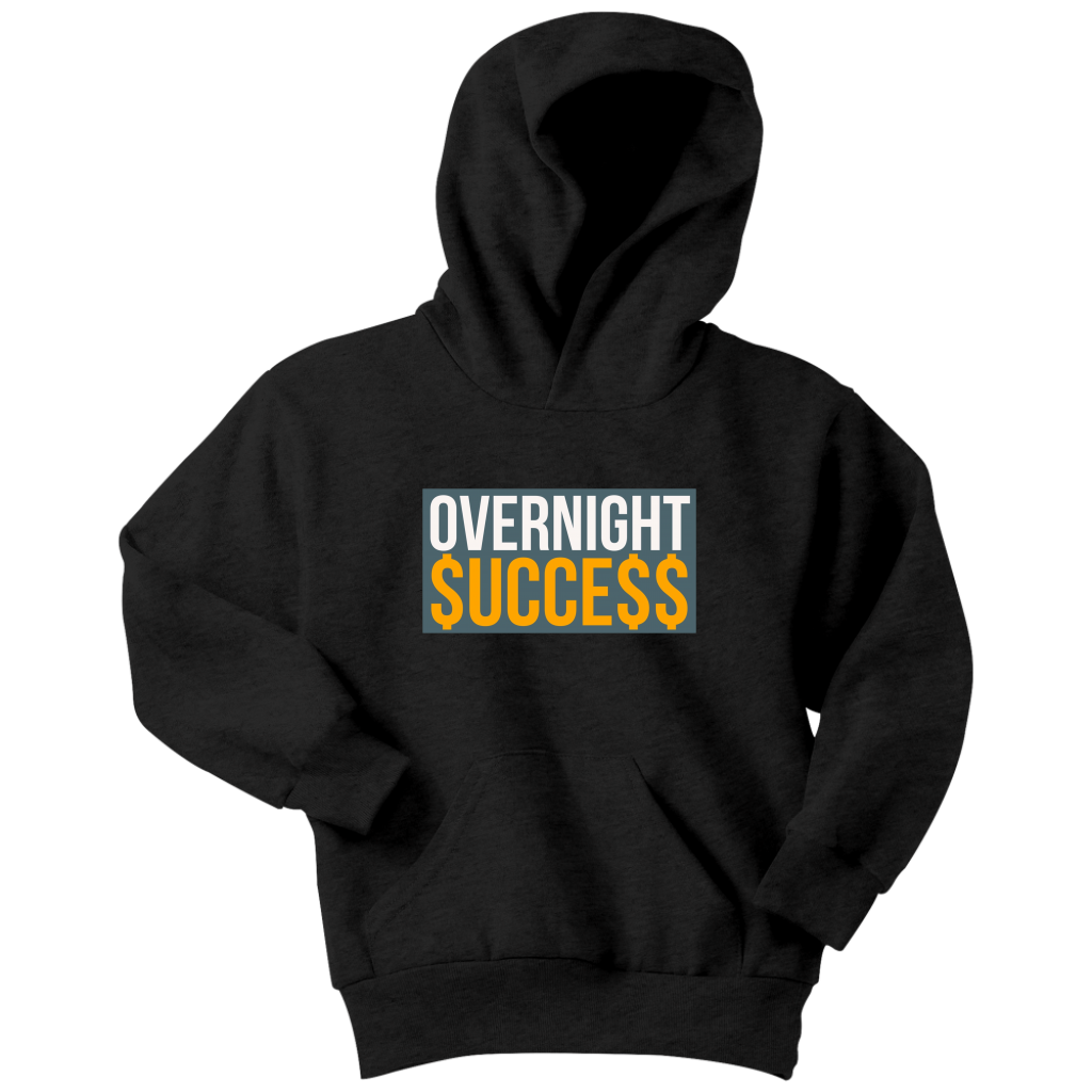 Overnight Success Youth Hoodie - Audio Swag