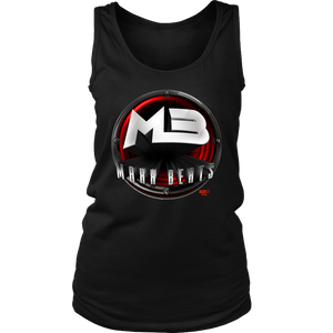 MAXXBEATS Red Logo Ladies Tank - Audio Swag