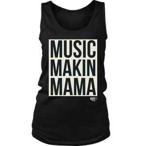 Music Makin Mama Ladies Tank Top