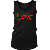 Love Ladies Tank Top - Audio Swag