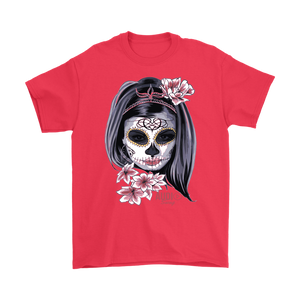 Day Of The Dead Woman Mens T-shirt