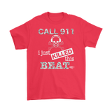 I Just Killed This Beat Mens T-shirt - Audio Swag