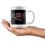 Audio Swag USA Logo Mug - Audio Swag