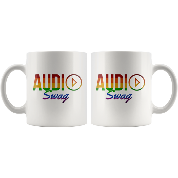 Audio Swag Rainbow Logo Mug - Audio Swag