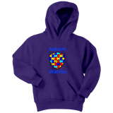 Autism Warrior Youth Hoodie - Audio Swag