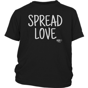 Spread Love Youth T-shirt - Audio Swag