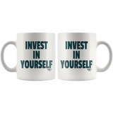 Invest In Yourself Mug - Audio Swag