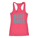 Beatmaker Ladies Racerback Tank Top - Audio Swag