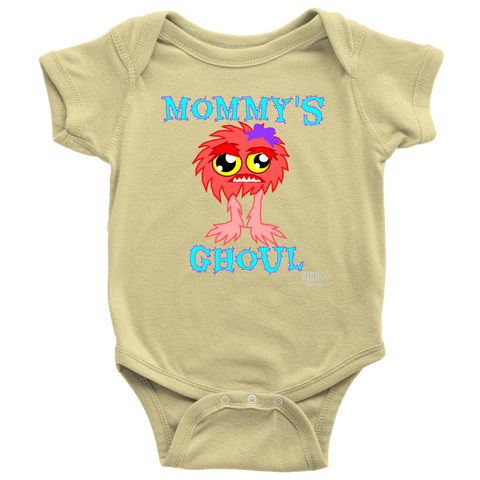 Mommy's Ghoul Baby Bodysuit