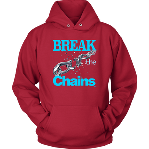 Break The Chains Hoodie - Audio Swag