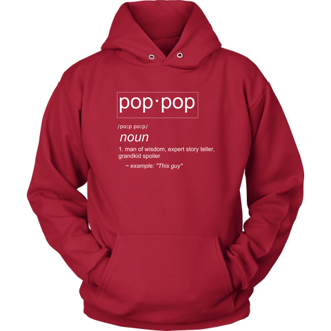 PopPop Definition Hoodie - Audio Swag