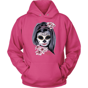 Day Of The Dead Woman Hoodie
