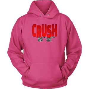 Crush It Motivational Hoodie - Audio Swag