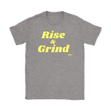 Rise and Grind Ladies T-shirt - Audio Swag