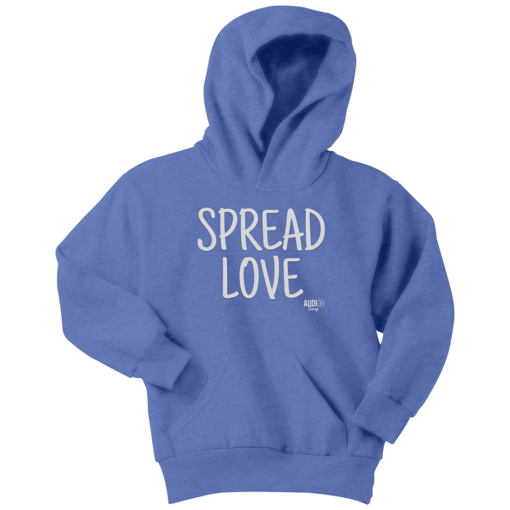 Spread Love Youth Hoodie - Audio Swag