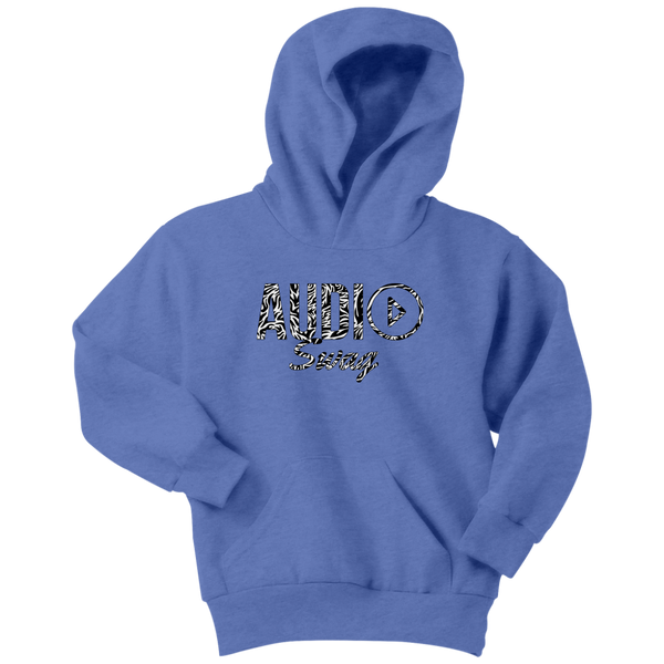 Audio Swag Zebra Logo Youth Hoodie - Audio Swag