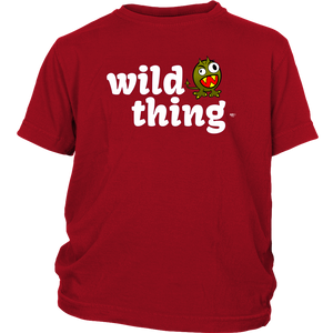 Wild Thing Youth T-shirt - Audio Swag