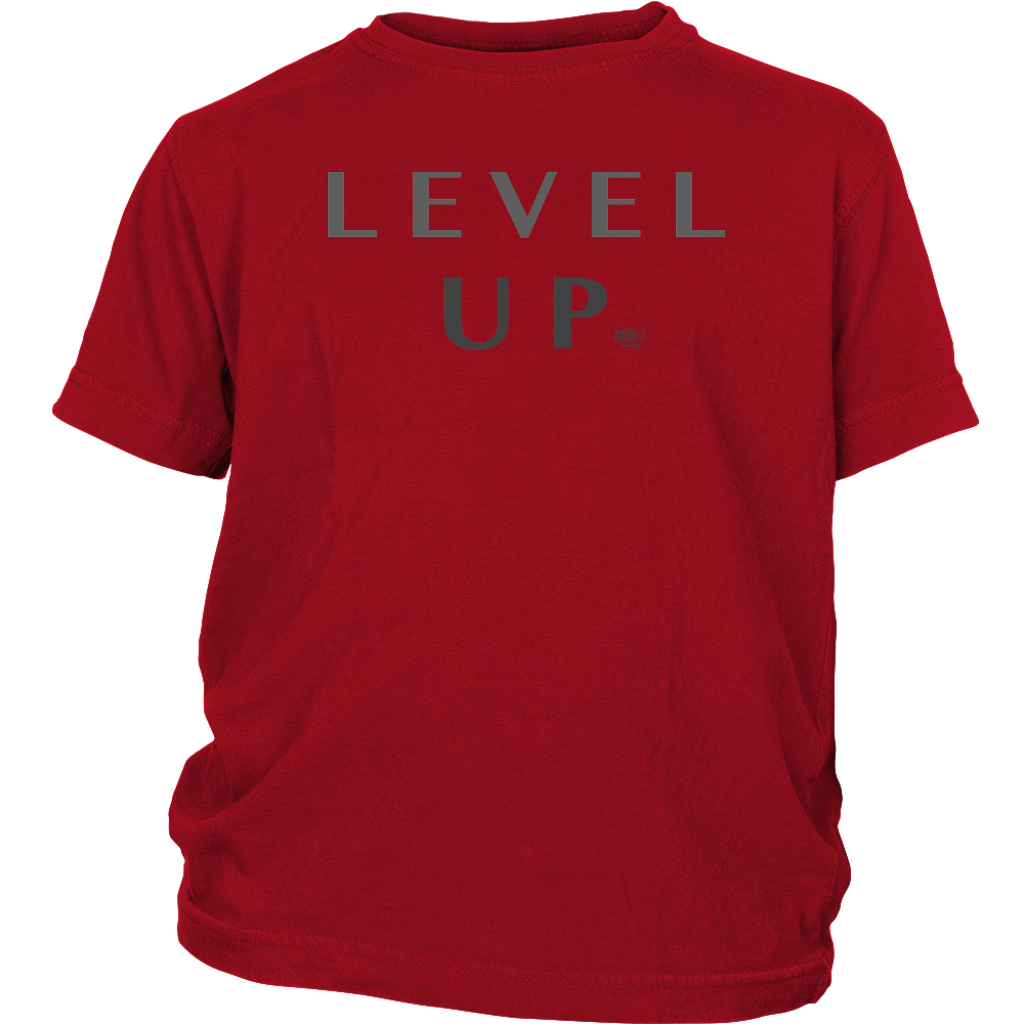 Level Up Youth T-shirt - Audio Swag
