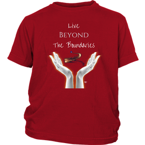 Live Beyond The Boundaries Youth T-shirt - Audio Swag