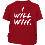 I Will Win Youth T-shirt - Audio Swag
