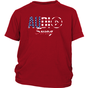 Audio Swag USA Logo Youth Tee - Audio Swag