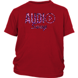 Audio Swag Pink Cheetah Logo Youth T-shirt - Audio Swag