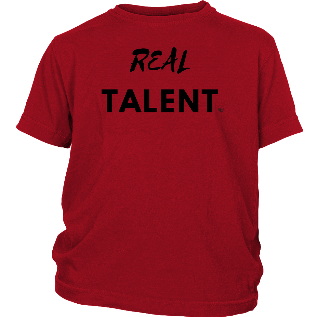 Real Talent Youth T-shirt - Audio Swag