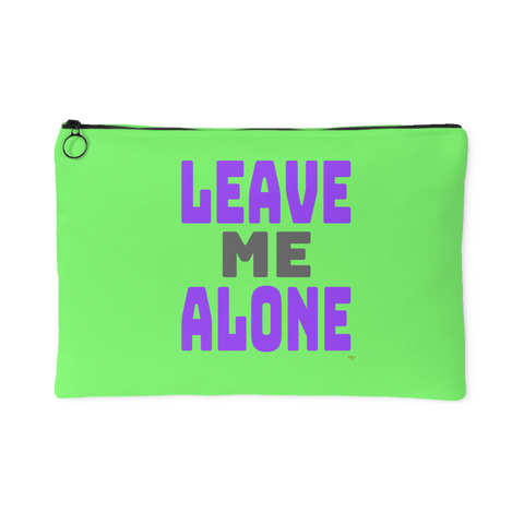 Leave Me Alone Large Accessory Pouch