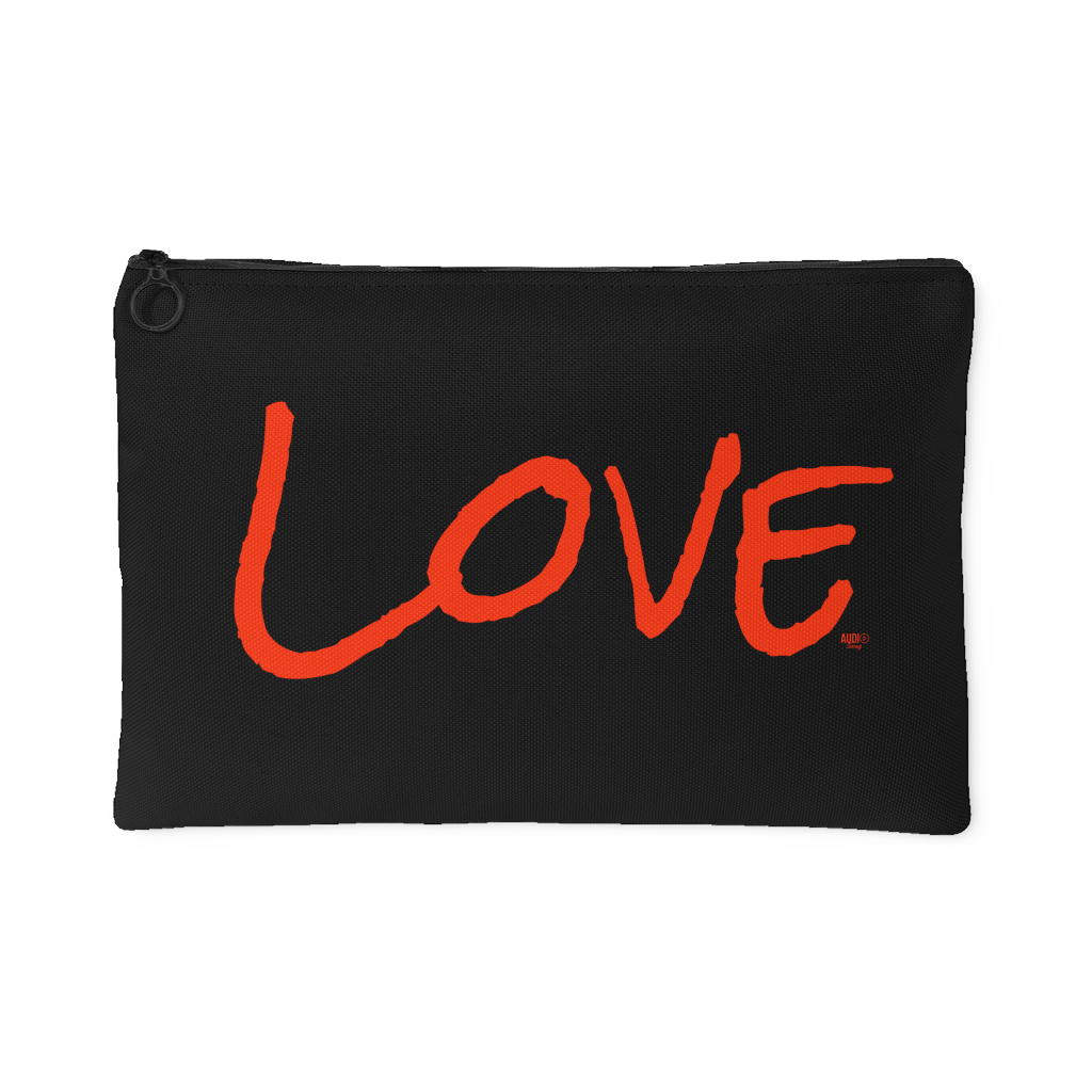 Love Large Accessory Pouch - Audio Swag
