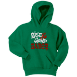 Rise & Grind Gamer Youth Hoodie - Audio Swag