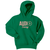Audio Swag Peach Logo Youth Hoodie - Audio Swag