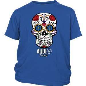 Sugar Skull Audio Swag Youth T-shirt