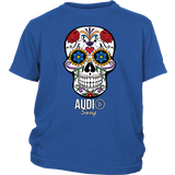 Sugar Skull Audio Swag Youth T-shirt - Audio Swag