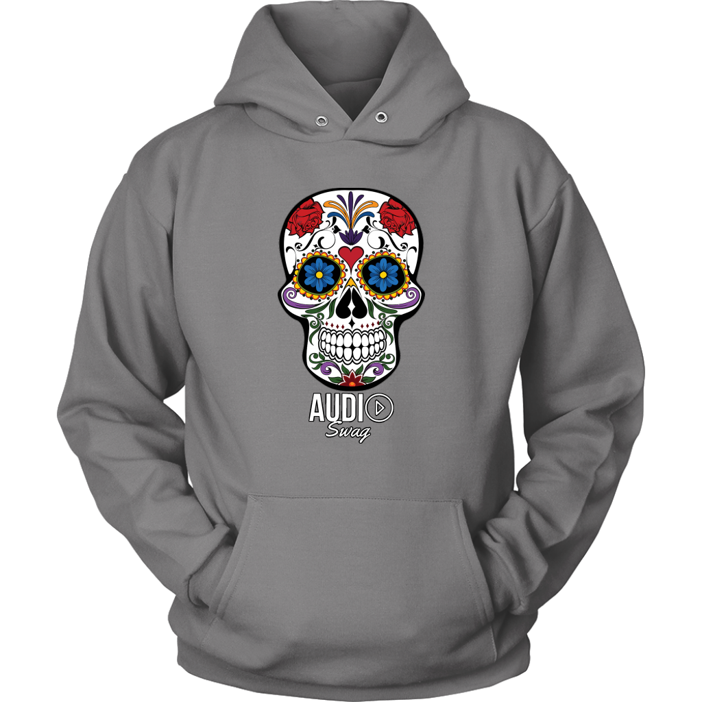 Sugar Skull Audio Swag Hoodie - Audio Swag