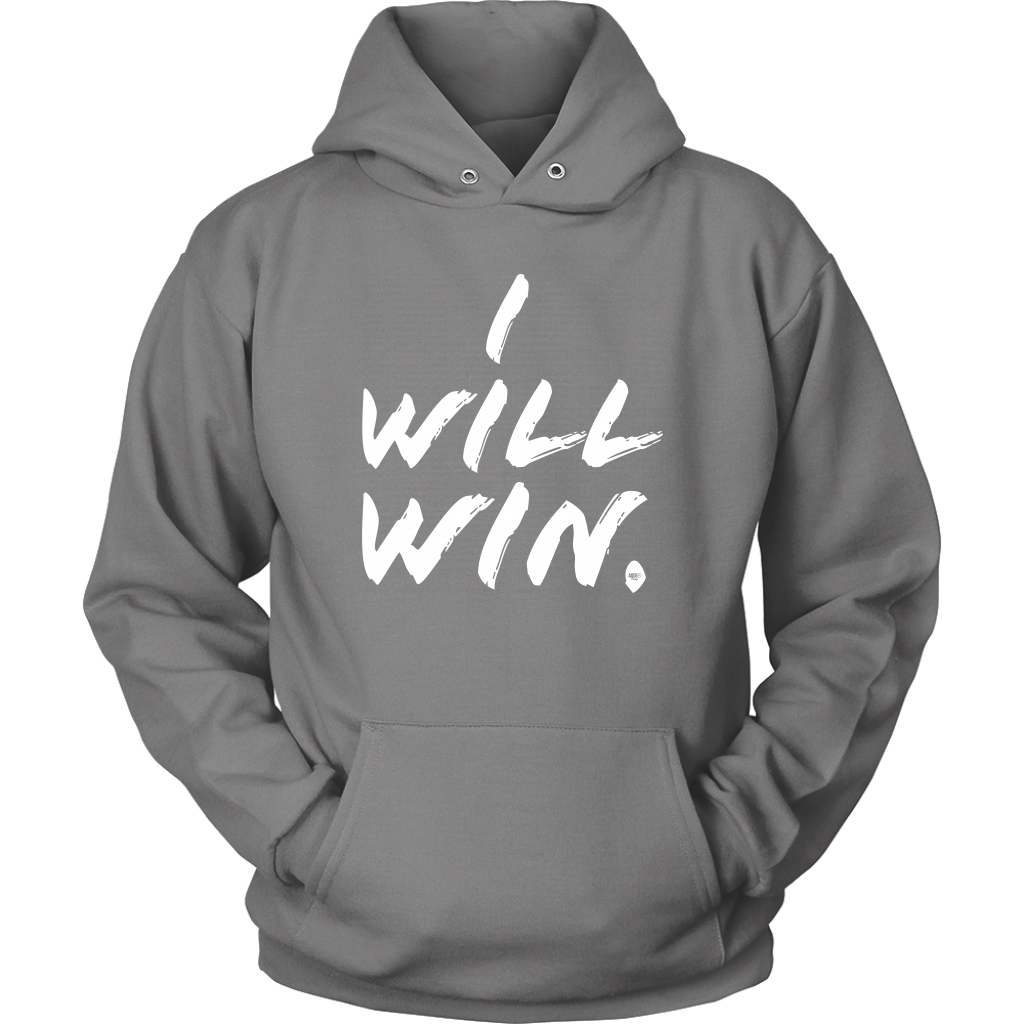 I Will Win Hoodie - Audio Swag