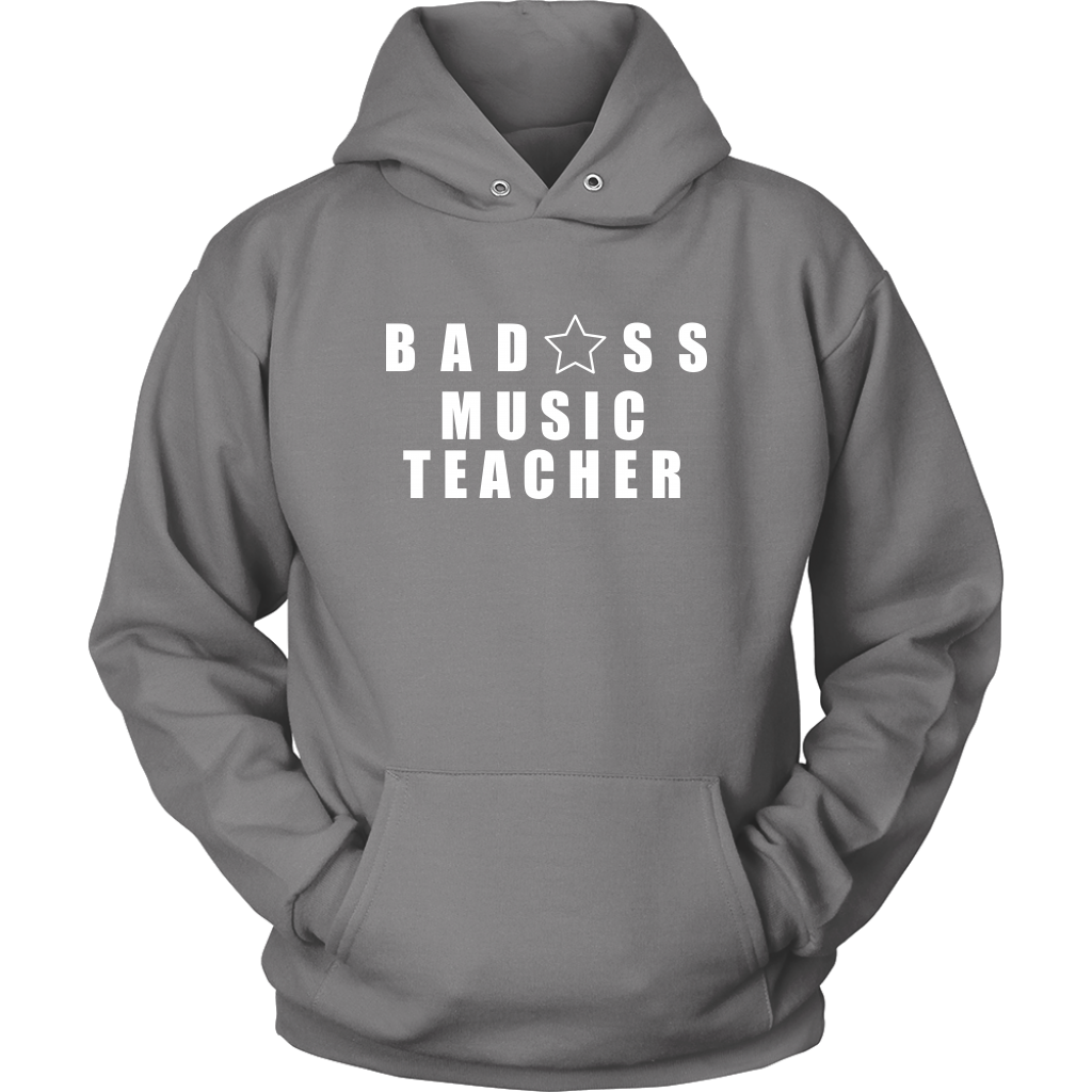 Bad@ss Music Teacher Hoodie - Audio Swag