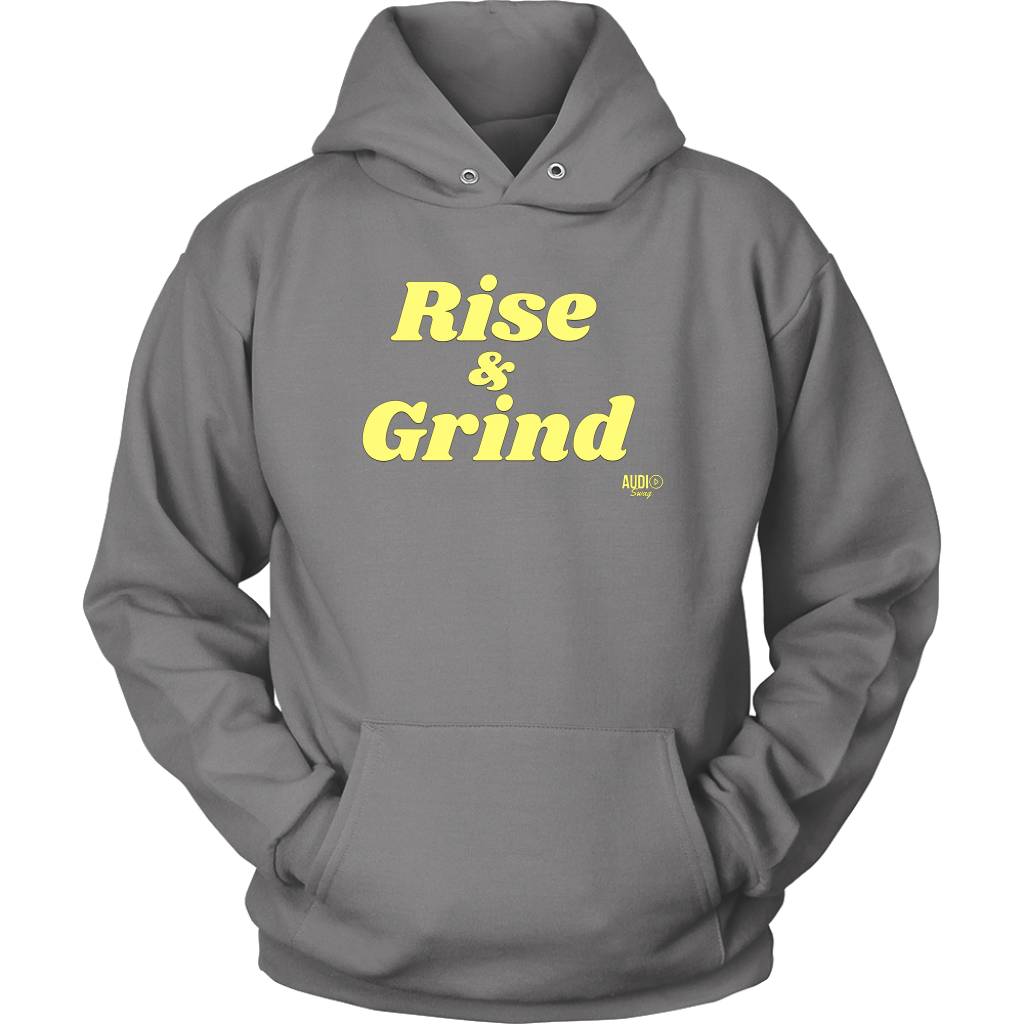 Rise and Grind Hoodie - Audio Swag