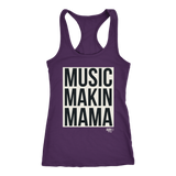 Music Makin Mama Ladies Racerback Tank Top - Audio Swag