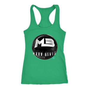 MAXXBEATS Logo Ladies Racerback Tank - Audio Swag