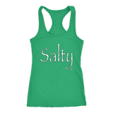 Salty Ladies Racerback Tank Top - Audio Swag
