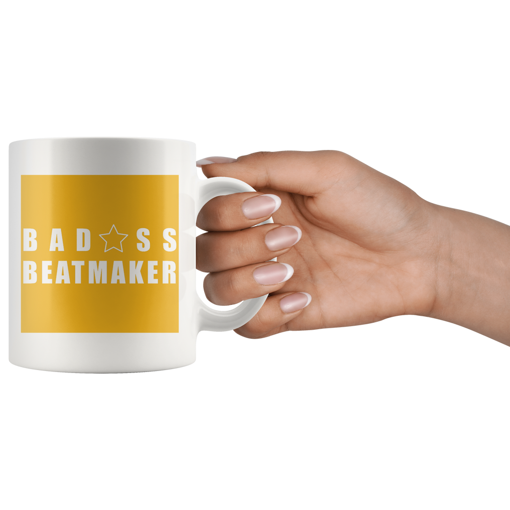 Bad@ss Beatmaker Mug - Audio Swag