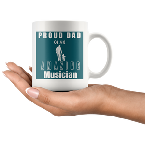Proud Dad of an Amazing Musician Mug - Audio Swag