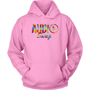 Audio Swag Autism Awareness Puzzle Logo Hoodie - Audio Swag
