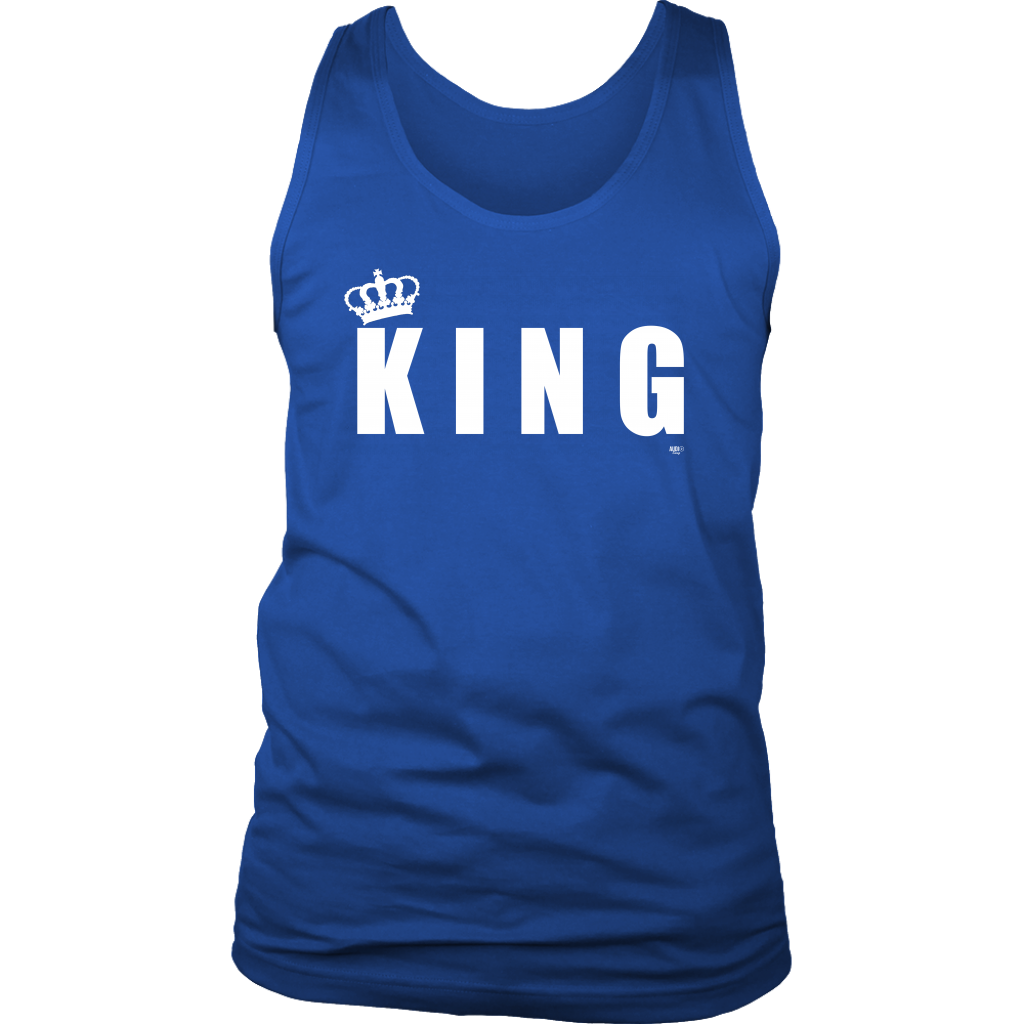 King Mens Tank - Audio Swag