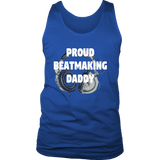 Proud Beatmaking Daddy Mens Tank - Audio Swag