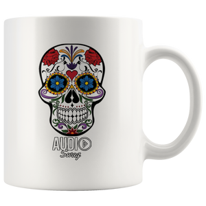 Sugar Skull Audio Swag Mug