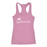 Queen Ladies Racerback Tank Top - Audio Swag